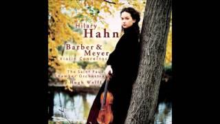 Barber: Violin Concerto, Opus 14 - II. Andante
