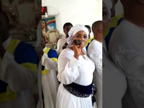 Busola Oke & Lanre Teriba in Church