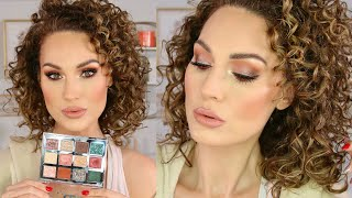 LET'S PLAY WITH MAKEUP! Holiday Inspired Look  The Glam Belle