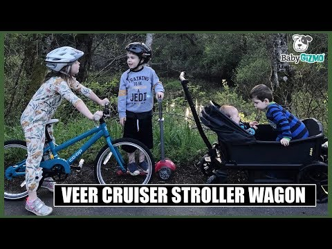 VEER Cruiser Stroller Wagon Review | MOM MONDAY