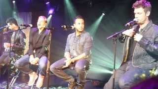 Backstreet Boys fan event - Love Somebody @ London Under the bridge 30 June 2013