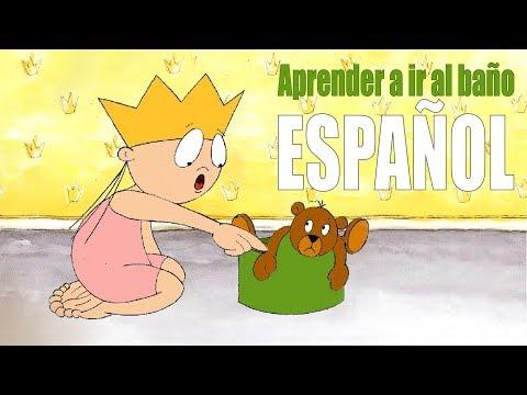La princesa Lili aprende a ir al baño | Cómo dejar el PAÑAL | PIPÍ POPÓ (ESPAÑOL)