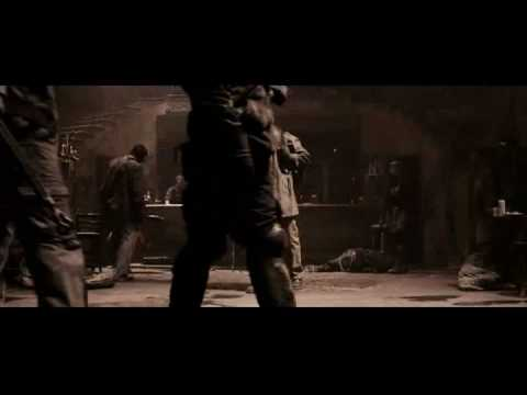 The Book of Eli- Bar Fight Scene