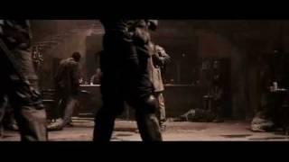 The Book of Eli- Bar Fight Scene