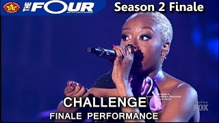 "Leah Jenea sings ""Golden"" Challenge Performance The Four Season 2 FINALE S2E8"