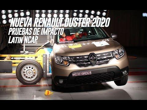 Renault Duster II 2020 Pruebas de Choque y ESP del LatinNcap - Real Car Test & Routiere