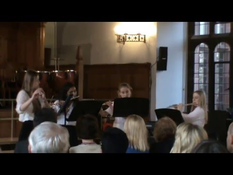 All Creatures Great and Small by Bolton School Girls' Senior Flute Quartet