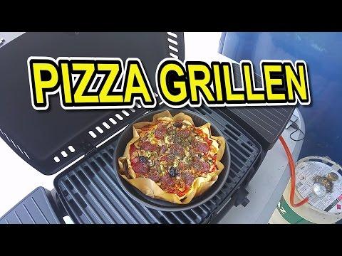 🔥🍕 MEIN ERSTES MAL...Enders Urban 2095 Tischgrill, Pizza grillen