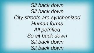 Archive - Sit Back Down Lyrics