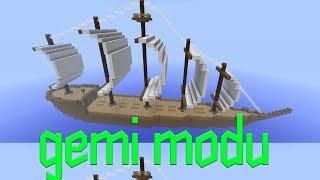 Minecraft Gemi Modu | KAPTAN OLDUM !
