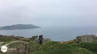 Küstenabschnitt an der Punta Rubia