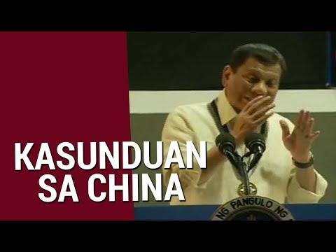SONA: PRRD, sinabing hindi kayang pagbawalan ang China na mangisda sa teritoryo ng Pilipinas