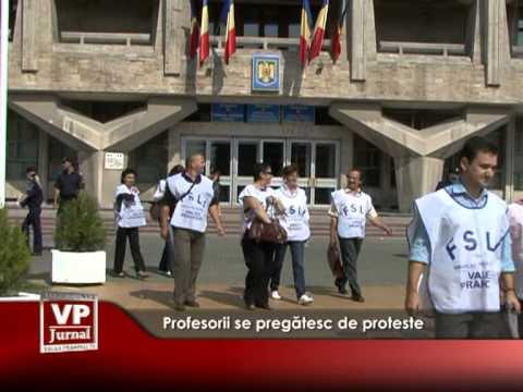 Profesorii se pregătesc de proteste