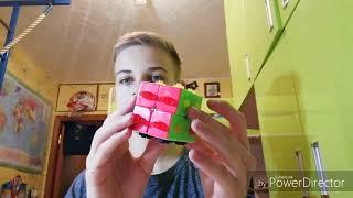 Собираю кубик рубика для слепых