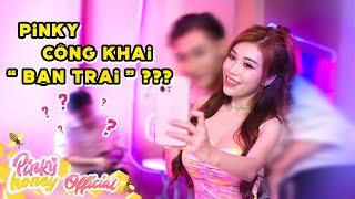 """THỬ THÁCH MỘT NGÀY HẸN HÒ CÙNG NGƯỜI LẠ   Pinky Công Khai """"Bạn Trai""""   PINKY HONEY"""