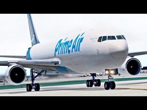 Amazon Air 767 to Chicago | X-Plane 11