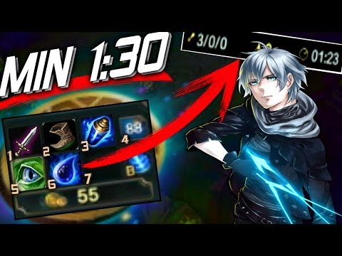 ILLEGAL START!? 1K in 1MIN- Ezreal&Thresh - in •LOW ELO• [Best Moments] - Vincent´s Ezreal