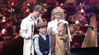 Cast of Chitty Chitty Bang Bang performs just for Channel 4