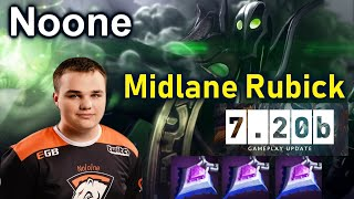 Noone [Rubick] Midlane Over Power Meta 7.20b Dota 2