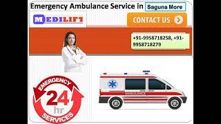 VIP Ambulance Service in Saguna More and Rajendra Nagar by Medilift