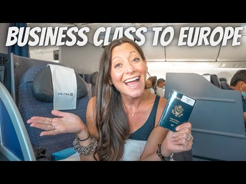 OUR FIRST INTERNATIONAL FLIGHT IN OVER A YEAR (United Polaris Business Class)