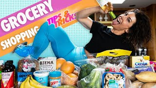 GROCERY SHOPPING TIPS AND TRICKS (For Health And Fitness)