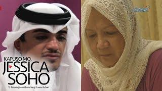 Kapuso Mo, Jessica Soho: Qatari national, nagpasalamat sa kaniyang Pinay nanny