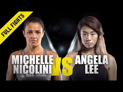 ONE Championship 98 - Michelle Nicolini vs. Angela Lee
