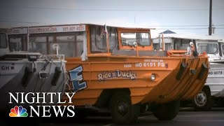 Nine Members Of Same Family Among The Dead After Missouri Duck Boat Capsizes   NBC Nightly News