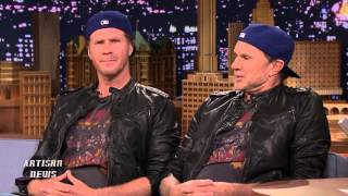 WILL FERRELL BEATS LOOK ALIKE RED HOT CHILI PEPPERS CHAD SMITH IN DRUM OFF