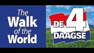 4 Daagse Nijmegen 2018; Via Gladiola  en Wedren