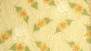 Soap Swirls: How to do a Floral Ebru Swirl