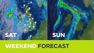 Weekend weather - A bright start then all change - 09/08/18