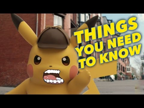 Great Detective Pikachu: 5 Things You NEED TO KNOW