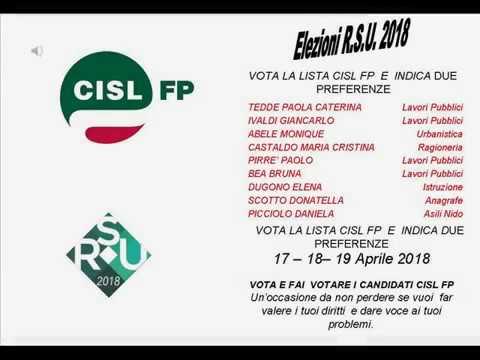 Elezioni RSU 2018 Comune di Asti