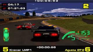 PSX Longplay [590] Test Drive Le Mans ( Part 3 of 3)