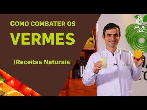 Como combater os Vermes | Tratamentos Naturais | Saúde Total