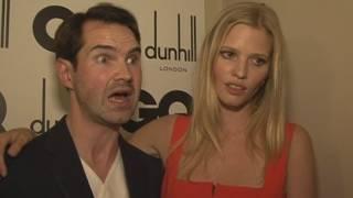 Lara Stone Discusses Husband David Walliams Thames Swim