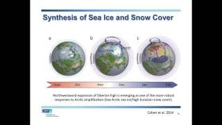 """What's causing the 'Warm Arctic, Cold Continents"""" pattern?"""