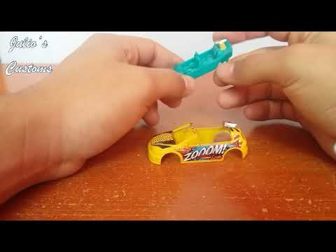 "Cortando un hot wheels ""volkswagen cabrio mk7"""