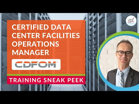 Certified Data Center Facilities Operations Manager (CDFOM ...