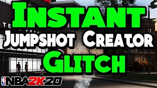 *NEW* NBA 2K20 HOW TO INSTANTLY UNLOCK JUMPSHOT CREATOR AFTER PATCH 13!!!😱 (PS4 & XBOX) *WORKING*