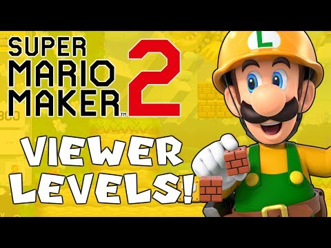 Playing YOUR Creations! (Viewer Courses) | Super Mario Maker 2