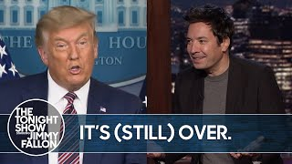 Trump's 2020 Election Lawsuits Get Thrown Out by More States | The Tonight Show