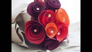 วิธีพับกระดาษ ดอกกุหลาบ ต้อนรับวาเลนไทน์