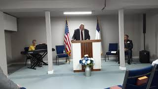 Grand Opening, First Worship Service