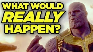 If Thanos' Snap REALLY Happened! Real-World Impact of Avengers Infinity War!
