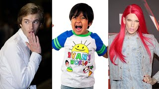 An 8-Year-Old Is The Highest Paid YouTubers For 2019, Earning $26 Million | MEAWW