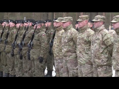 U.S. NATO troops surge in Europe after Russian aggression