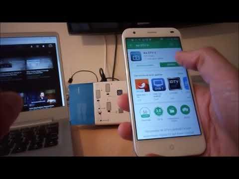 DVB-T2 TV USB-Stick mit einem Android-Smartphone empfangen. Es geht tatsächlich :-)